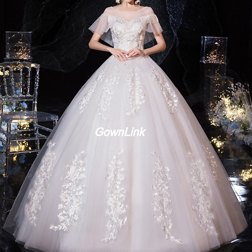 Gownlink Christian and Catholic Bridal Wedding Dress GLD63