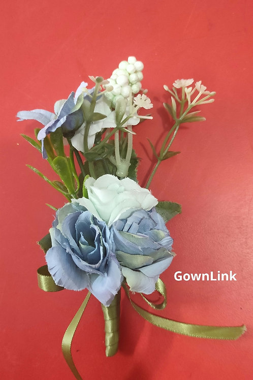 Wedding Groom Coat Flower  (5*3 Inch) Gownlink Boutonniere Buttonholes India