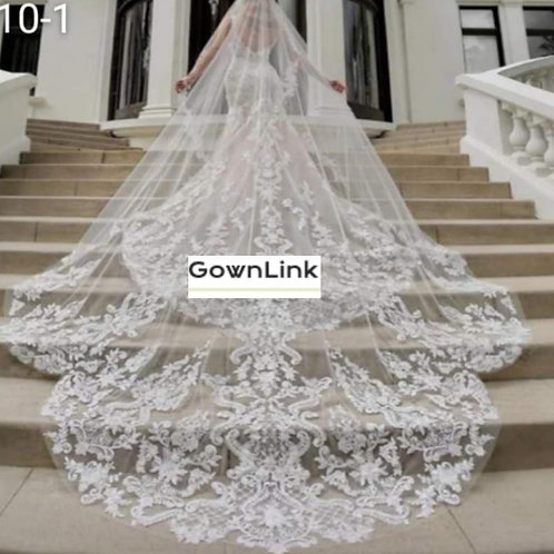 Christian And Catholics Bridal Wedding Veil With Front Face Layer