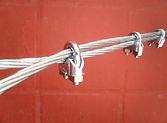 Cable de acero con accesorios