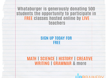 OUR PARTNERSHIP WITH WHATABURGER