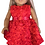 Thumbnail: Christmas Dress With Rosettes