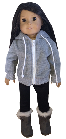 Fleece Sweatshirt and Leggings