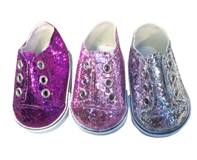 Glitter Sneakers (3 Colors)