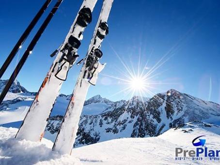 טסים לחופשת סקי? אל תשכחו ביטוח