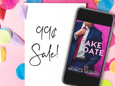 $.99 sale on Fake Date!