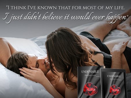 Undeniable by aleatha romig is live!