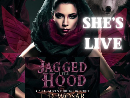 Jagged little hood is live!
