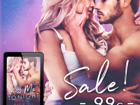 Kiss Me Tonight by Maria Luis is on Sale