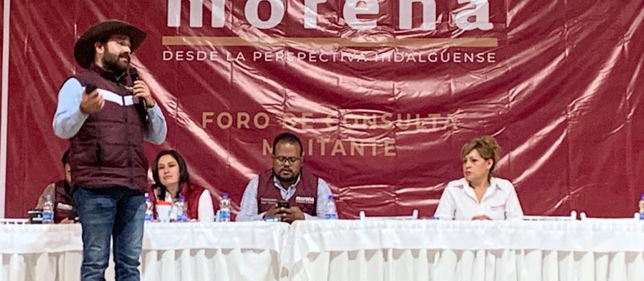 FORO DE CONSULTA DE MORENA Y LA CUARTA TRANSFORMACIÓN.