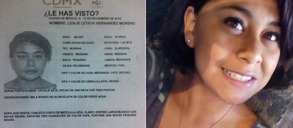 Encuentran muerta a estudiante Leslye Leticia de la UACM