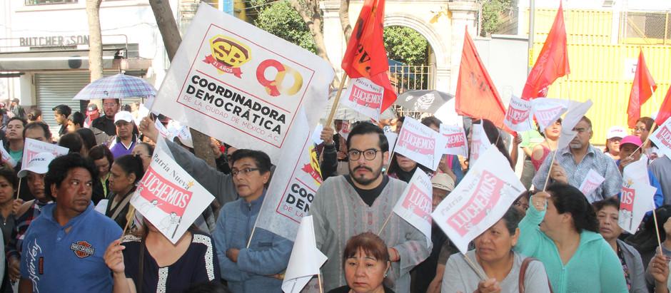 CÓMO SURGE, LA COORDINADORA DEMOCRÁTICA DE LA CIUDAD DE MÉXICO, A.C.