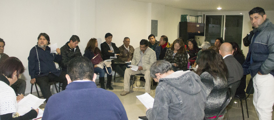 Se reúne el Frente Nacional de Organizaciones Sociales, hacia la Cuarta Transformación.  03/01/19