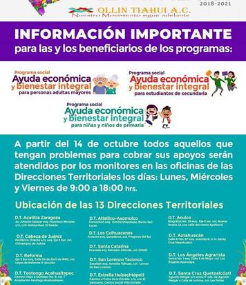 Ayuda económica y bienestar integral, alcaldía Iztapalapa.
