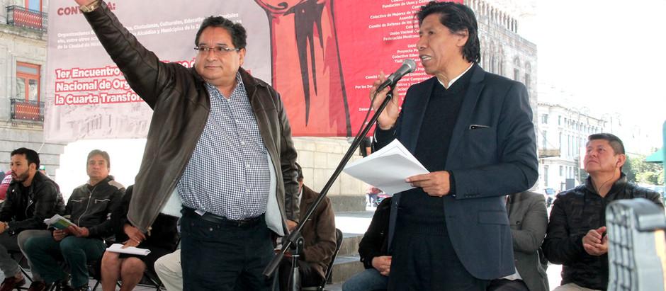 Frente Nacional de Organizaciones Sociales por la Cuarta Transformación.