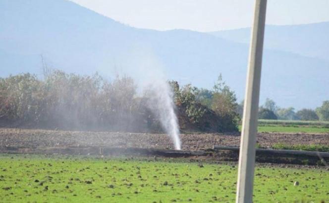 Nueva fuga de combustible en Teocalco, Tula Hidalgo. (21/01/19)