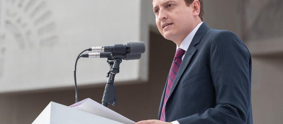Rinde Néstor Núñez, Primer Informe de Gobierno.