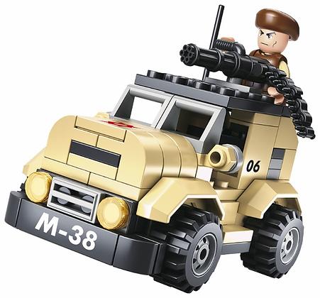 Կոնստրուկտոր՝ Բանակ 8տեսակ բլոկով, մոդել 1