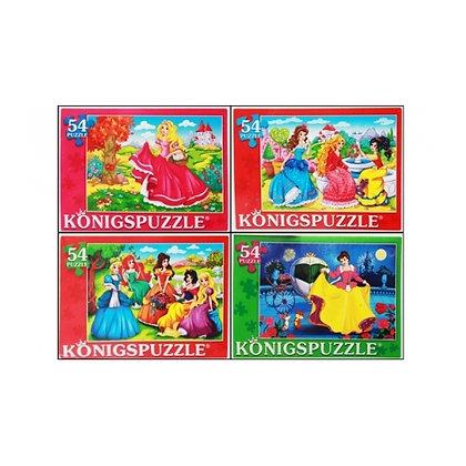 Puzzle 54 «Արքայադուստրերի աշխարհում»
