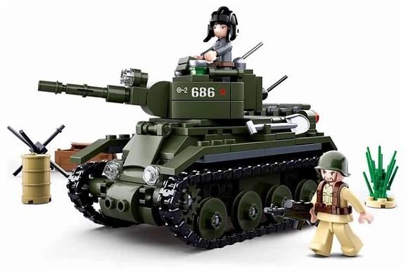 Կոնստրուկտոր՝ WWII BT-7 մեքենա 347կտ