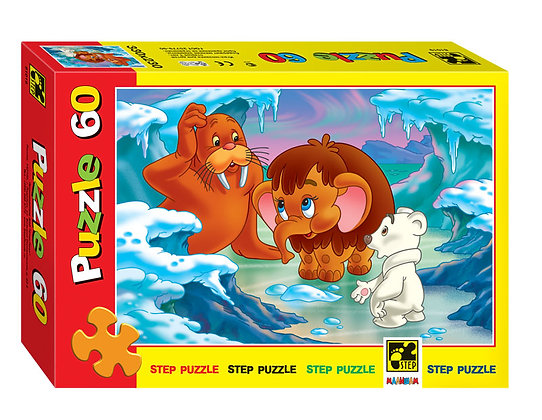 Step Puzzle-60 էկրան «Մամոնտ ձագուկը»