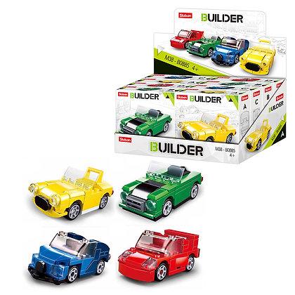 Կոնստրուկտոր՝ Builder 8հատ մեքենա, 4 մոդել