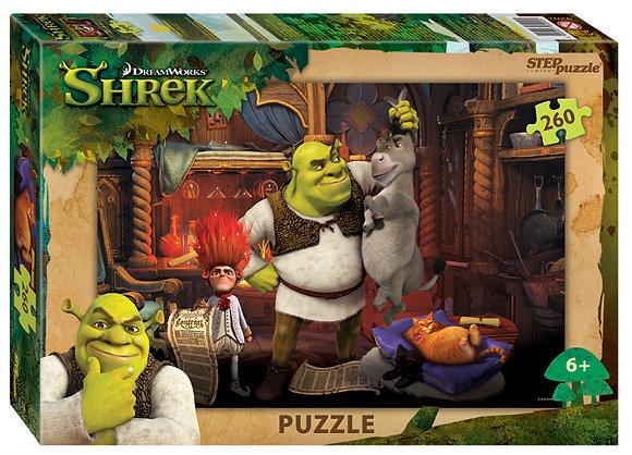 Step Puzzle-260 Շրեկ (DreamWorks, Multi)