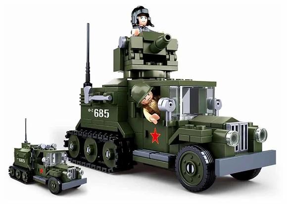 Կոնստրուկտոր՝ WWII GAZ ավտոմեքենա 243կտ