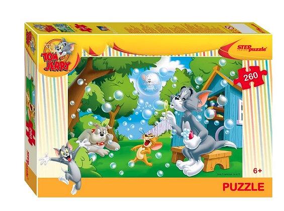 STEP puzzle 260 «Թոմն ու Ջերրին»
