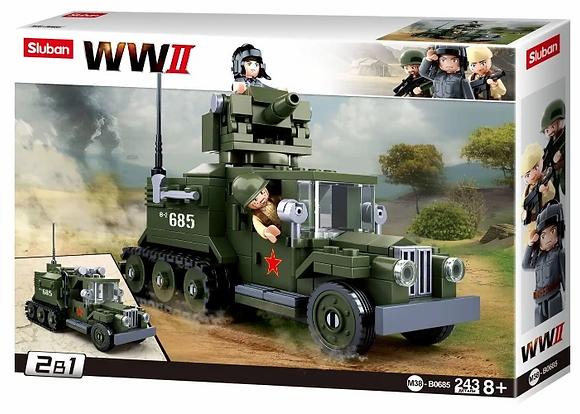 WWII 243կտ GAZ ավտոմեքենա
