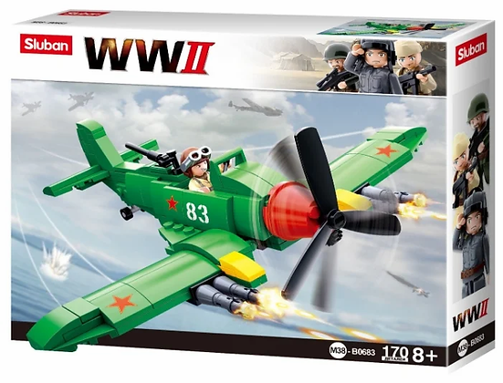 WWII 170կտ Իլյուշին ինքնաթիռ