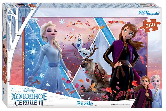 Step Puzzle-360 «Սառցե սիրտը»