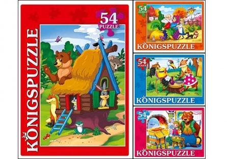 Puzzle 54 «Լավագույն ռուսական հեքիաթները»