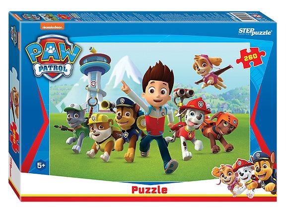 """STEP puzzle 260 """"Щенячий патруль"""" «Պարեկ շնիկներ»"""