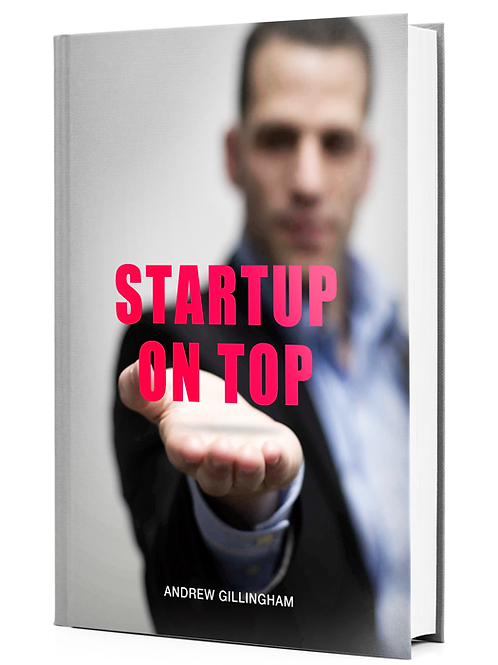startup on top book