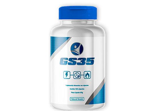 Kit GS35 120 cápsulas (Quantidade para 02 meses - 01 Frasco)