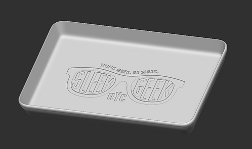 Sleek Geek Rolling Tray