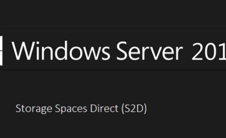 Predavanje z razpravo na temo Windows Server 2019 S2D