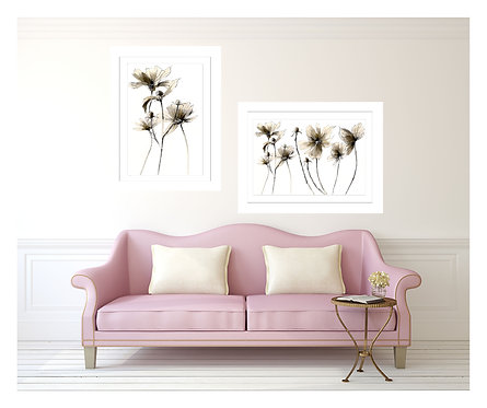 copy of SCRIBBLE 10 PORT 2 TWIN FRAMED GICLEE PRINT