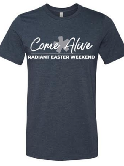 Radiant Easter Shirt Heather Navy
