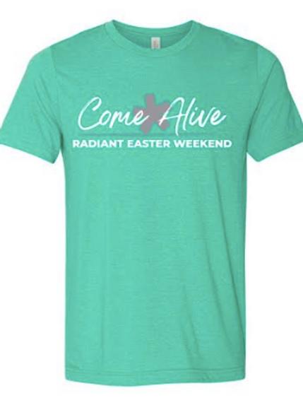 Radiant Easter Shirt Teal