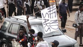 #ENDSARS KADUNA PROTESTS OCTOBER 2020