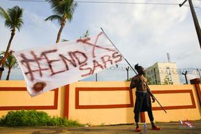 #ENDSARS PROTESTS OCTOBER 2020