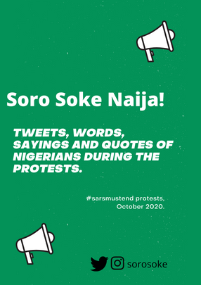 #SARSMUSTEND PROTEST DIARIES, OCTOBER 2020