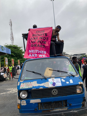 #ENDSARS PROTESTS, LEKKI TOLL, OCTOBER 2020