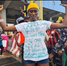 #QueerNigerianLivesMatter Protests October 2020