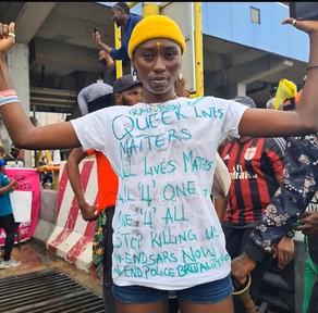 #QueerNigerianLivesMatter Protests October 2020