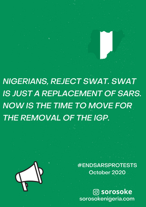 #EndSARS Protest Diaries October 2020