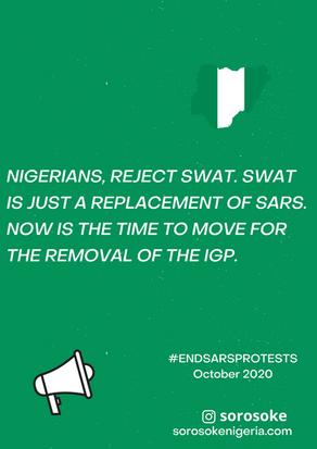 #EndSARS Protest Diaries October 2020