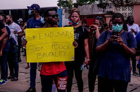 #SARSMUSTEND PEACEFUL PROTESTS, OCTOBER 2020